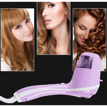 surker Steam Smart Automatic Curler Electric Hair Curler Large Roll Ceramic negative ion  LCD digital display 30S fast heating