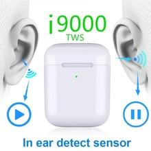 i9000 TWS 1:1 Wireless Earphone Pop-up Smart Sensor Charging Super Bass Bluetooth 5.0 PK W1 i200 i500 i800 i2000