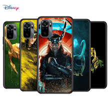 Marvel Avengers Loki For Xiaomi Redmi Note 10S 10 9T 9S 9 8T 8 7S 7 6 5A 5 Pro Max Soft TPU Silicone Black Cover Phone Case