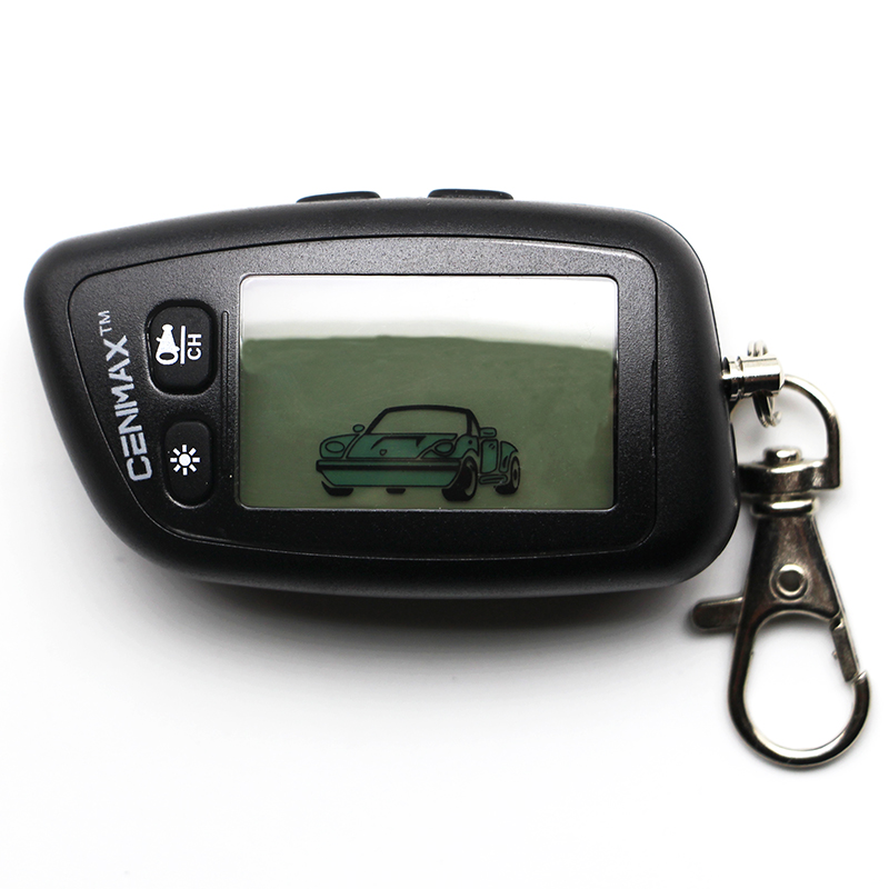 CENMAX ST-5A Russian Version LCD Remote Control For 5A LCD Keychain Car Remote 2-way Car Alarm System / AM Transmitter