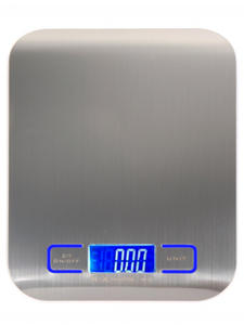 Kitchen Scale Measuring-Tools Weight-Balance-Scales Libra Digital Stainless-Steel Electronic
