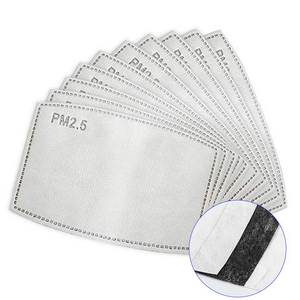 Mouth-Mask FILTER-PAD REPLACEABLE-FILTERS-COVER Disposable Anti-Virus Adult 200pcs 5-Layers