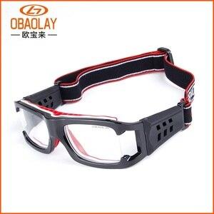 Image 1 - כדורסל משקפיים ספורט Eyewear כדורגל משקפיים גברים נגד התנגשות משקפיים כושר אימון משקפי אופני רכיבה על אופניים משקפיים