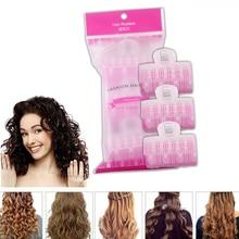 Hairdressing Self-Adhesive Styling-Tool No-Heat-Loop Easy Plastic 3pcs/Set