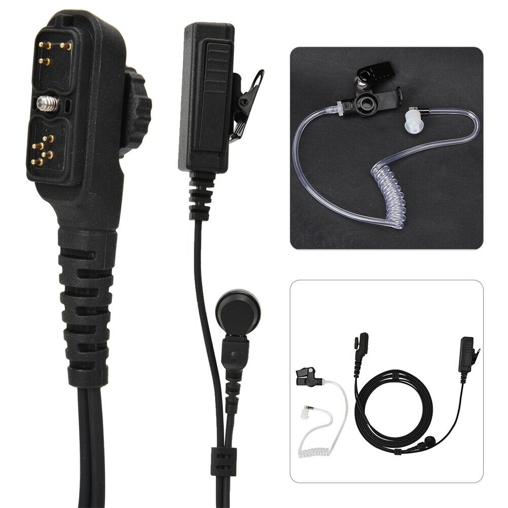 Air Tube Headset Earpiece Mic For Walkie Talkie HYT Hytera PD780  PD700 PD700G PD702G PD705G PD752 PD782 PD785 PD785G PT580H