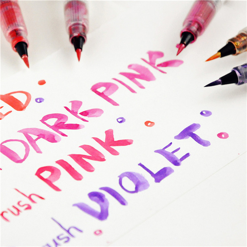1 Pc Of Kuretake Zig Wink Of Stella Glitter Brush Pen Real Glitter Marker 16 Colors Available