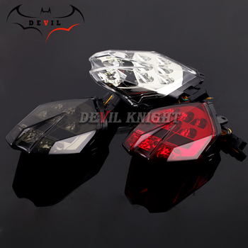LED Tail Brake Light Turn signal For Triumph Speed Triple 675/R Daytona 13-16, Street Triple S 765 17-18 Motorcycle Integrated