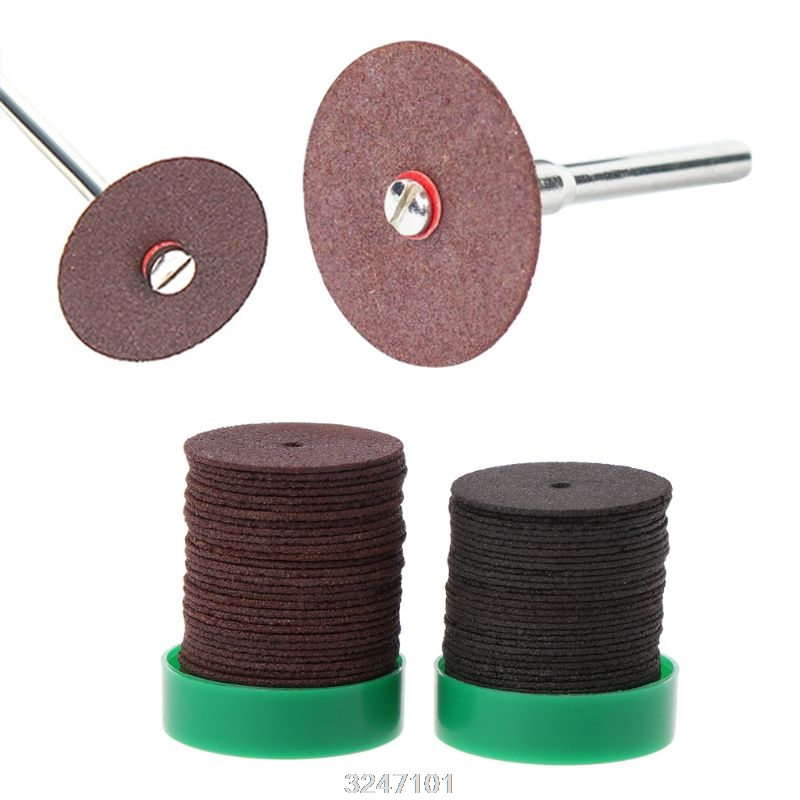 Drop Wholesale 36pcs 24mm Abrasive Disc Cutting Discs Reinforced Cut Off Grinding Wheels Rotary Blade Cuttter Tools