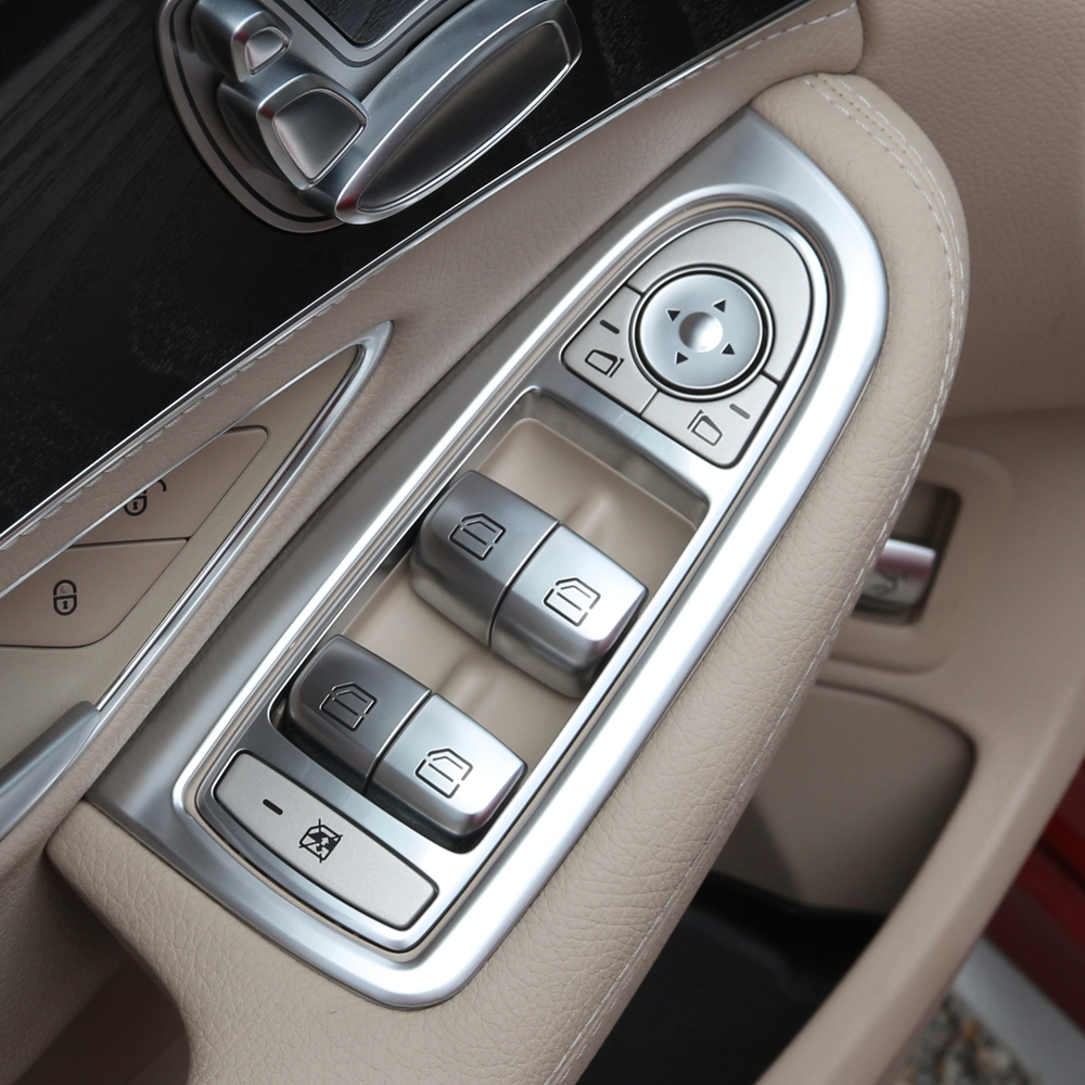 Rear Bumper guard//Scratch Protector fit for Mercedes GLC X253  2015