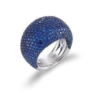 Image 5 - TKJ Anillo de espinela negra para mujer, joyas de piedras preciosas de Plata de Ley 925 auténtica para mujer, piedras redondas, regalo de joyería de compromiso de boda
