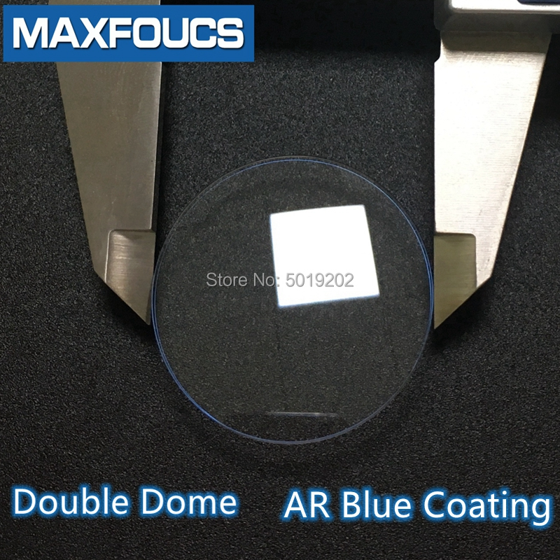 Sapphire Glass Watch Crystal Blue AR Coating Doubel Dome 32.5/33/33.5/34/34.5/35/35.5/36/37/37.5/38/38.5mm Diameter Watch Parts