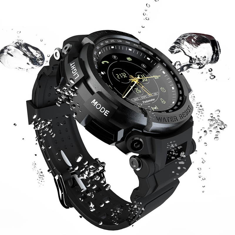 MK28 smart watch outdoor sports health management Bluetooth 4.0 mountaineering waterproof remote control mobile phone shooting