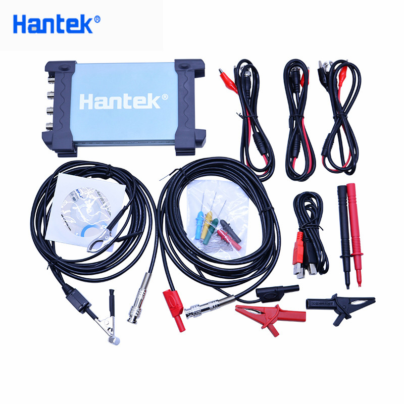 Hantek 6254BE Digital 250MHz Bandwidth Automotive Oscilloscopes Car-detector 4 Channels 1Gsa/s USB PC Osciloscopio New image