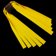 Set of 10 Slingshot Flat Rubber Bands Catapult Elastic Latex Bungee Powerful
