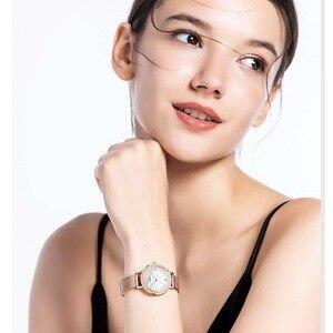 Image 5 - SINOBI Neue Frauen Luxus Marke Uhr Elegante Quarz Damen Wasserdichte Armbanduhr Weibliche Mode Casual Uhren Uhr reloj mujer