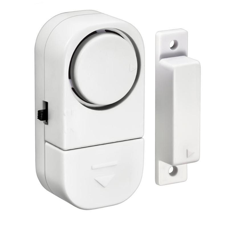 Mini Smart Wireless Home Door Window Open / Closed Detector Burglar Alerts Security Alarm System Doors Windows Magnetic Sensor