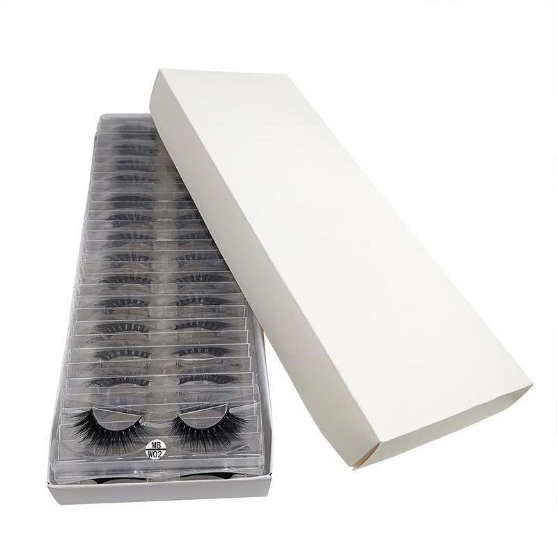 pares pacote cílios 3d vison cílios com