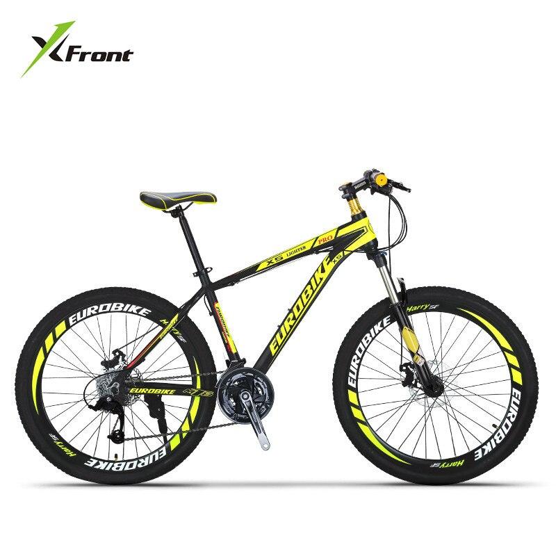 New Brand Mountain Bike Aluminum Alloy Frame 27 Speed Disc Brake 26 Inch Wheel Bicycle Outdoor Sports Downhill MTB Bicicleta