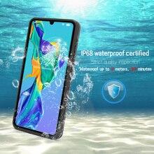 JONSNOW Wasserdicht Fall für Huawei P30 Pro Schwimmen Tauchen Außen Stoßfest Fall für Taube 20 Pro P30 P20 Lite Full schutz