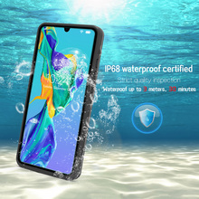 JONSNOW Waterproof Case for Huawei P30 Pro Swimming Diving Outdoor Shockproof Case for Mate 20 Pro P30 P20 Lite Full Protection