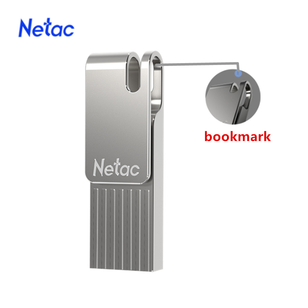 Netac U277 USB Flash Drive 64GB/128GB/256GB Mini USB Pendrive USB 3.0 Pen Drive Flash Drive Memory Stick USB Disk USB Flash Cute