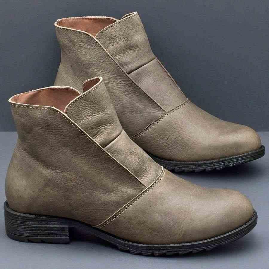 Sıcak Chelsea çizmeler sıcak yarım çizmeler kadınlar için sonbahar çizmeler kadın ayakkabıları düşük topuklu kadın kış çizmeler kadın patik artı boyutu 43