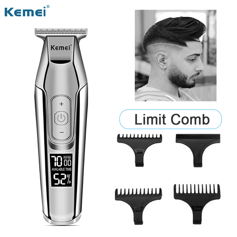 Professional Electric Hair Trimmer For Men Body Beard Trimer Male Hair Cutting Machine Hair Clippers Mustache Cordless Finishing