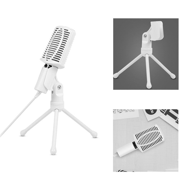 Universal USB Studio Condenser Microphone For Recording Music Sound Foley Audio For YouTube Videos