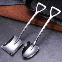 Spoon-Tip Shovel Watermelon-Spoon Ice-Cream Stainless-Steel Creative 304