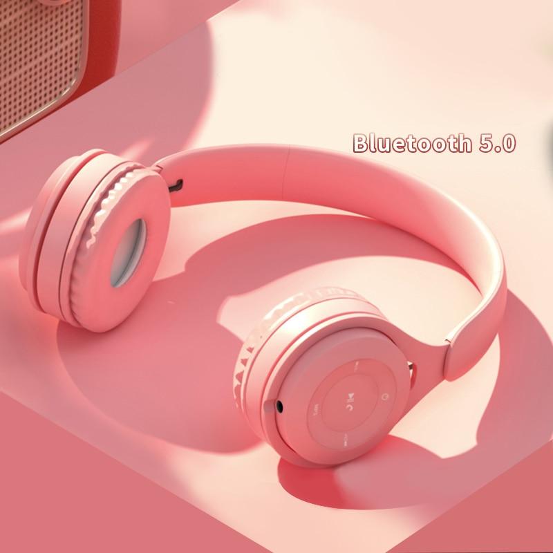 Wireless Headphones Over Ear Headset Bluetooth Headphone Handsfree Headset Adjustable Earphone With Mic For Tv Cellphone Pc Bluetooth Earphones Headphones Aliexpress