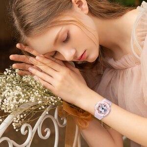 Image 4 - Shifenmei דיגיטלי שעון נשים ספורט נשים שעונים למעלה מותג גבירותיי צמיד שעוני יד קוורץ שעון נשי Relogio Feminino