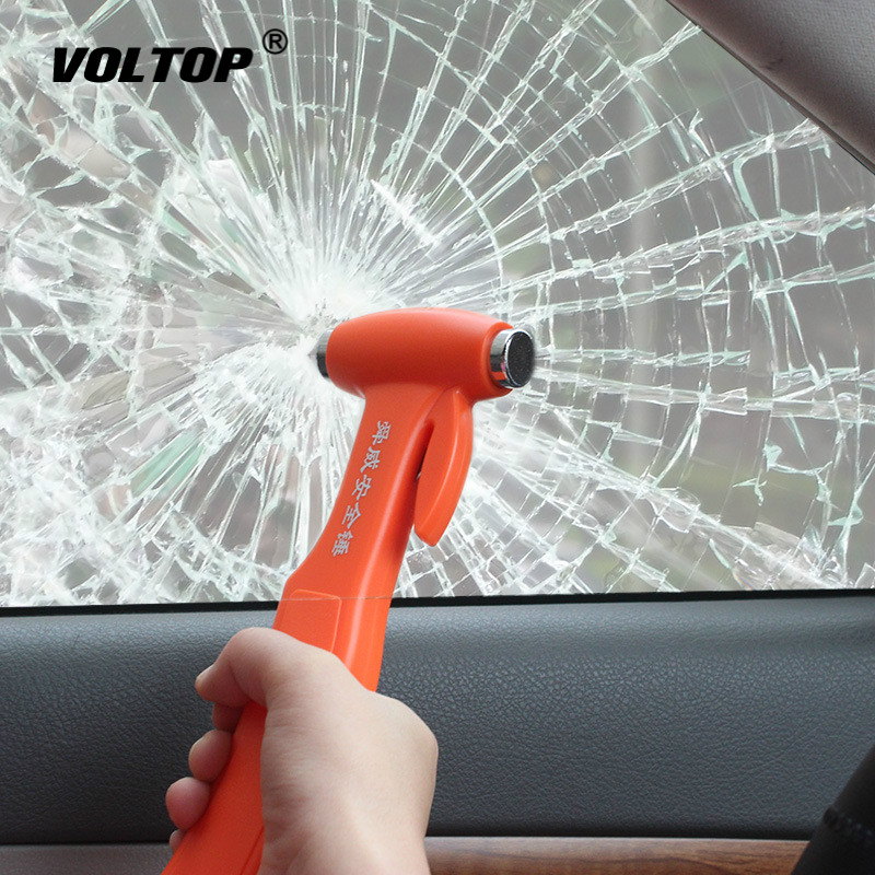 Safety Hammer Car Disassembly Tool Accessories Rescue Escape Emergency Cutting Seat Belt Broken Window Glass Outdoor Lifesaving