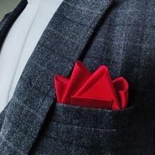 Ручная работа карман полотенце мужчины% 27 формальный одежда свадьба костюм аксессуары британский полиэстер квадрат шарф броши