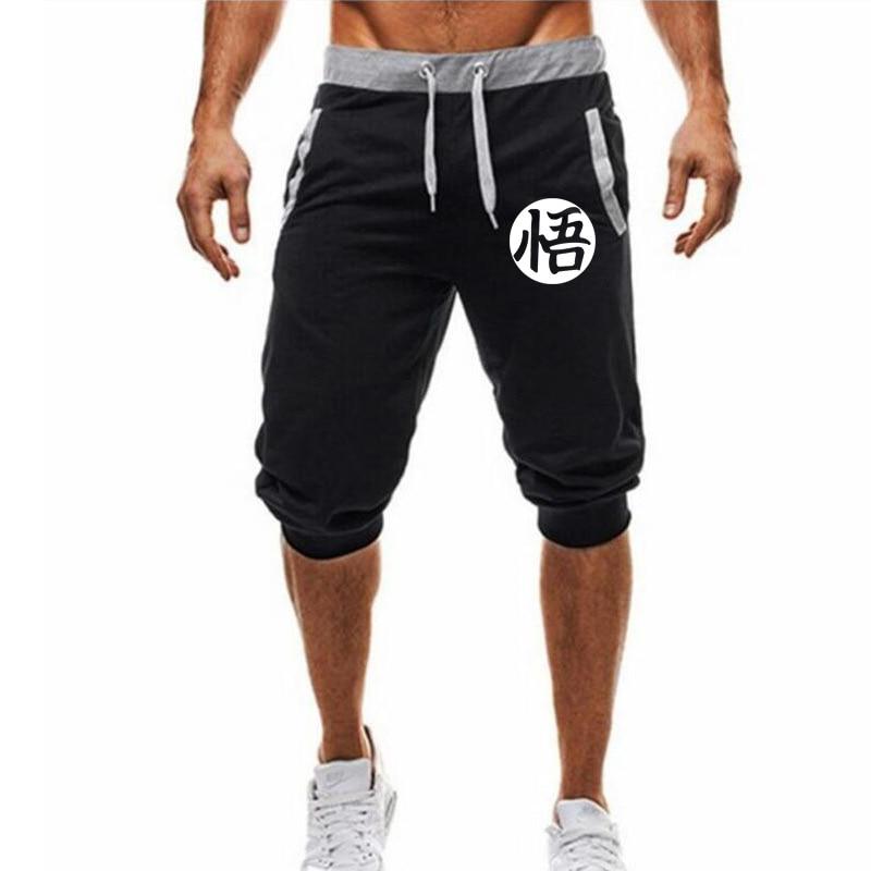 2020 Hot-Selling Summer New Men's Shorts Casual Shorts Fashion Dragon Ball Goku Print Sweatpants Fitness Short Jogger M-3XL