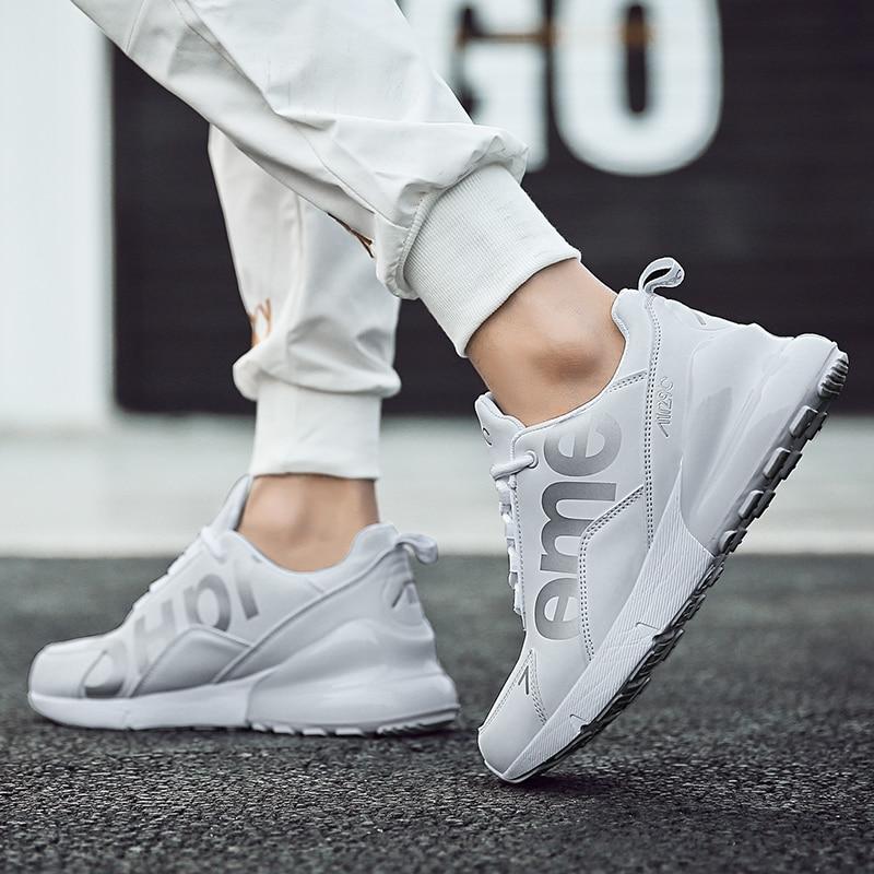Новые Спортивная обувь для мужчин амортизирующие кроссовки для спортивных тренировок, мужские удобные кроссовки для бега и ходьбы
