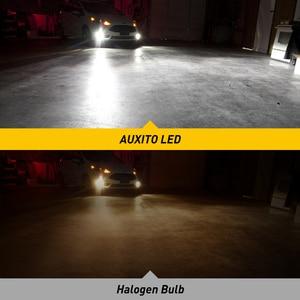 Image 3 - AUXITO 2X H11 LED مصابيح كهربائية الضباب H8 H9 H16 JP LED CSP 6000k أبيض/3000k الذهبي الأصفر 12 فولت 24 فولت DRL سيارة النهار تشغيل مصباح تلقائي