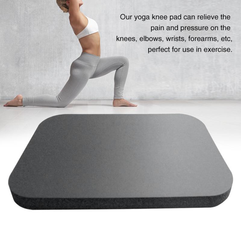 Extra Padding Floor Exercise Cushions Sports Foam Pilates Yoga Knee Pad Wrist Elbow Rectangle Accessories Garden