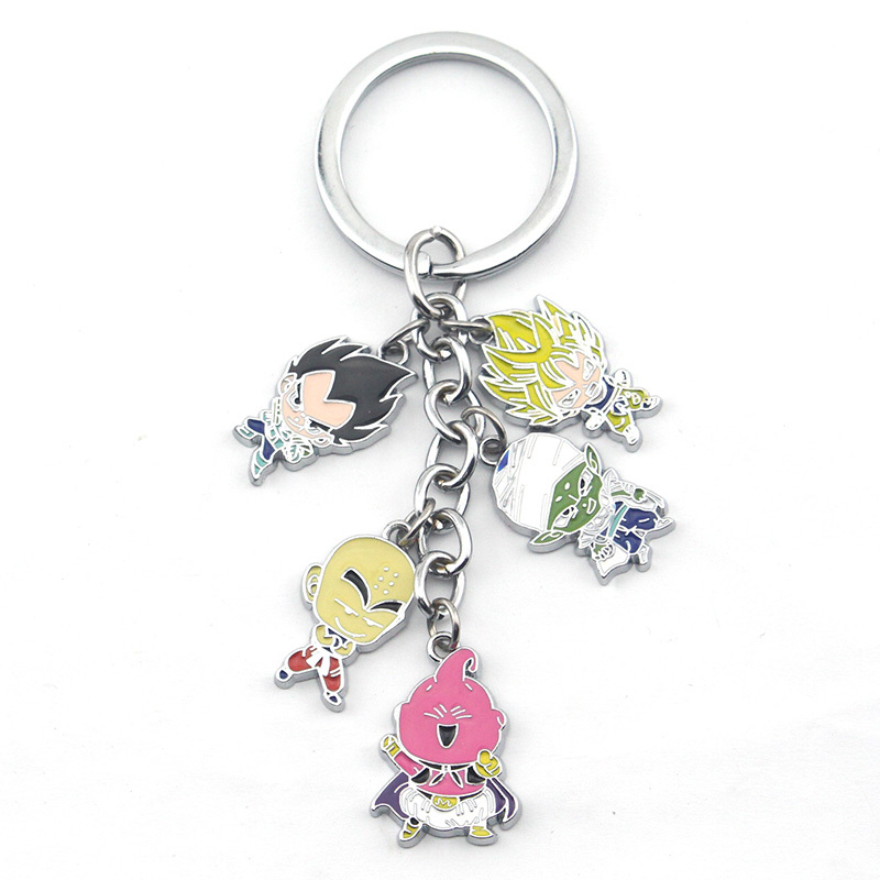 Hot Anime Dragon Ball Z Piccolo Acrylic Key Ring Pendant Keychain Gift