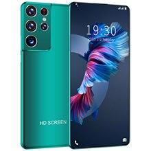 Teléfono Inteligente S21 Ultra 6,8 HD, versión Global, pantalla completa de 2GB, 32GB, 4 núcleos, SIM Dual, Android, tipo C, carga rápida