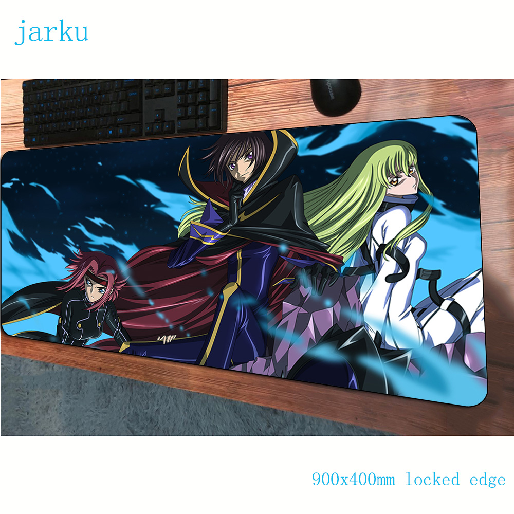 Code Geass mouse pads 900x400x3mm cute pad to mouse computer mousepad gaming padmouse Kawaii gamer to keyboard mouse mats(China)