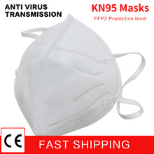 KN95 medical mask Anti virus covid 19 respirator Disposable Protective Masks Mouth Face resp N95 ffp2 95% Filtration Mouth Masks