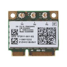 Dual Band Wireless Wifi Card 6300AN Half Mini PCIe for Intel 450M for HP 8770w 8760w 8770w 6460b 8460w 2560p SPS:572511-001