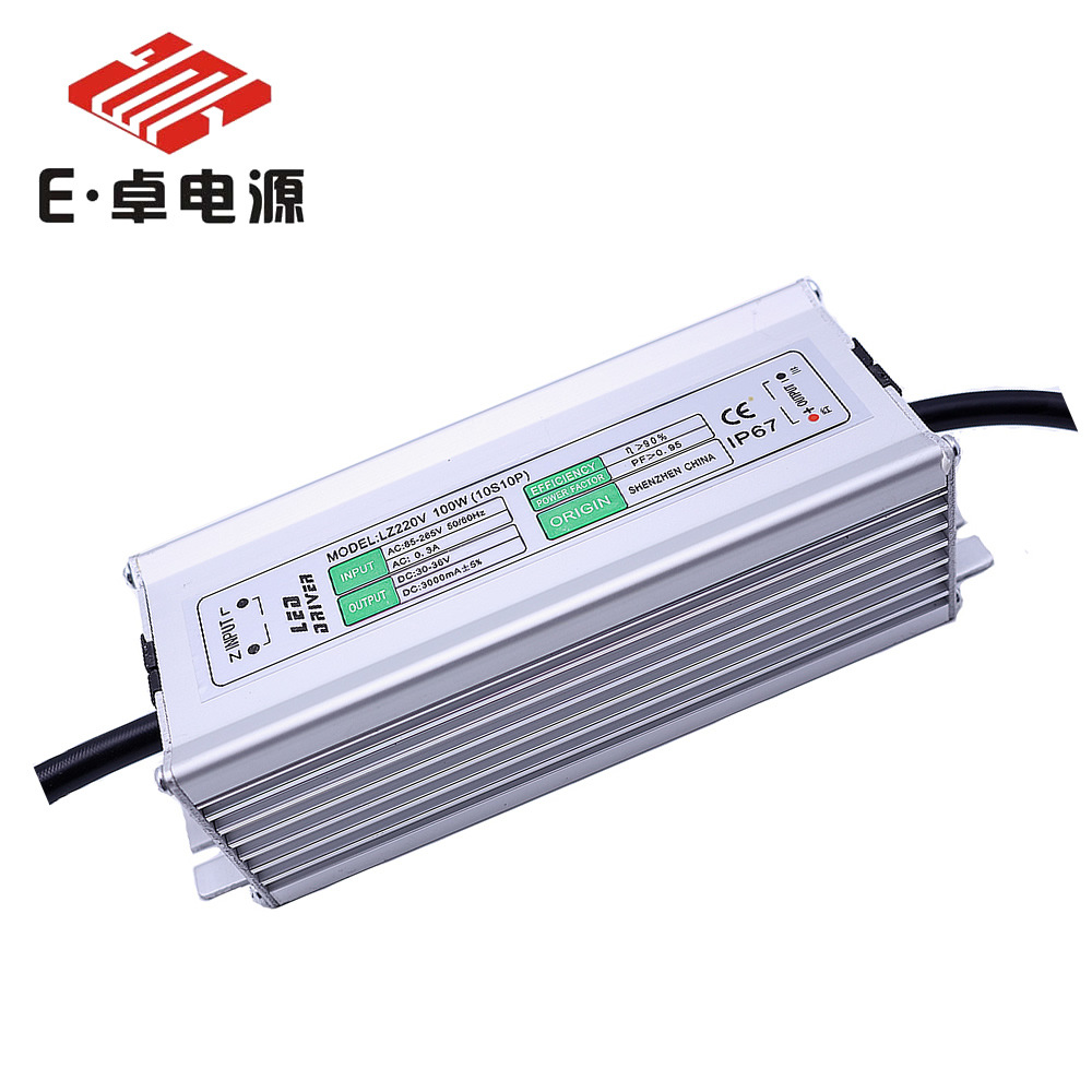 High Pressure Waterproof 100w10 String 10 And LED Flood Light Power Source 2800ma LED Spotlight Power Supply