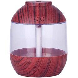 700Ml USB nawilżacz ziarna drewna duży zbiornik wody maszyna do aromaterapii wodomierz Home Car Office maszyna do aromaterapii w Nawilżacze powietrza od AGD na