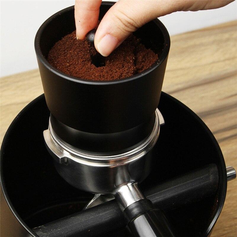 TTLIFE 58MM Coffee Tamper Dosing Ring Espresso Barista Powder Picker For EK43 Grinder