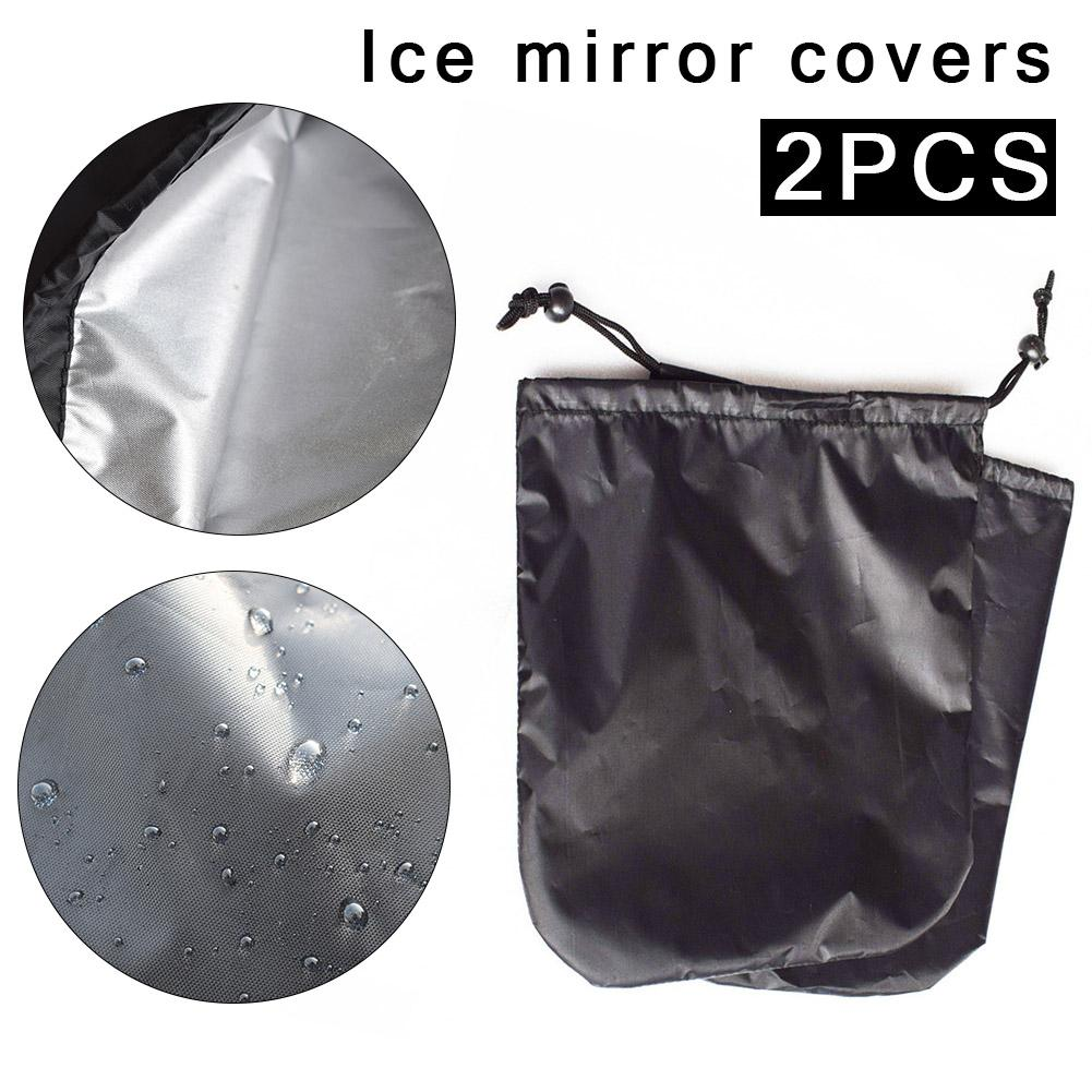 2PCS Car Side Mirror Protective Cover Frost Guard Mirror Cover For Rear View Mirror 33*27cm