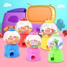 Мини игрушечная коробка конфет машина креативный пузырьковый контейнер для хранения конфет диспенсер детский Монетный банк детский подарок диспенсер для конфет коробка бутылка