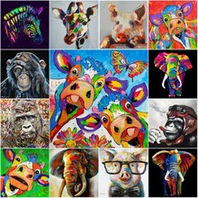 Animals Cow and Pig Graffiti Street Art Posters Canvas Painting and Prints Wall Art Picture for Cuadros Living Room Decor