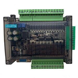 Image 3 - LE3U FX3U 24MR 6AD 2DA عالية السرعة PLC لوحة تحكم الصناعية مع 485 الاتصالات و RTC بدون كابل