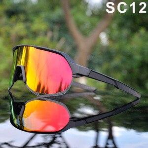 Image 5 - Marka açık spor bisiklet gözlükleri S2 S3 erkekler bisiklet gözlük dağ bisikleti bisiklet gözlük UV400 Peter sürme güneş gözlüğü